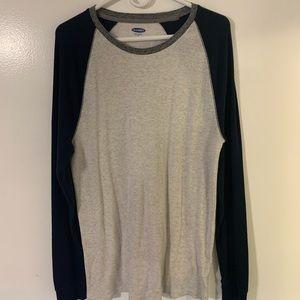 Men's Old Navy Two Tone Long Sleeve Shirt XL